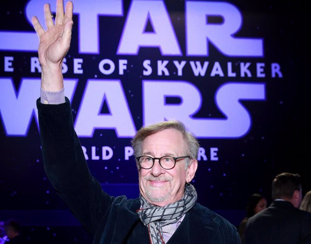 Steven Spielberg en la premiere de Star Wars: The Rise Of Skywalker