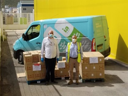 El Grupo Hefame dona más de 20.000 productos de 'Interapothek' a los hospitales más cercanos a sus centros