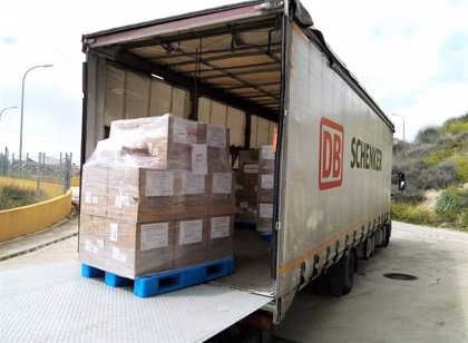 Coronavirus.- DB Schenker distribuye 100.000 mascarillas donadas por H&M a diversas regiones españolas e italianas