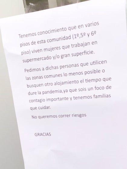 """Grupo Uvesco denuncia los """"casos de odio"""" que sufren los trabajadores de supermercados en algunos vecindarios"""