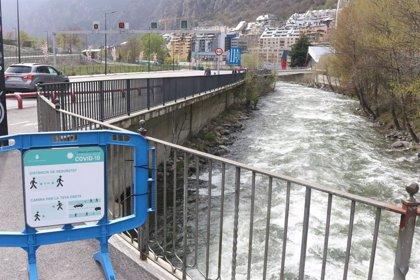 La primera jornada en la que se permite salir en Andorra se desarrolla sin incidencias