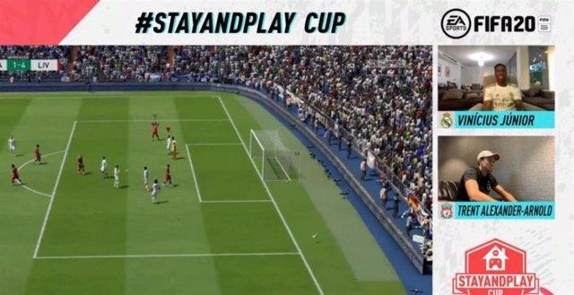 Fútbol.- Vinicius cae eliminado en el torneo 'Stay and Play' de eSports