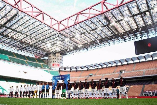 """Fútbol.- La Federación Italiana anuncia la """"suspensión definitiva"""" de todos los"""