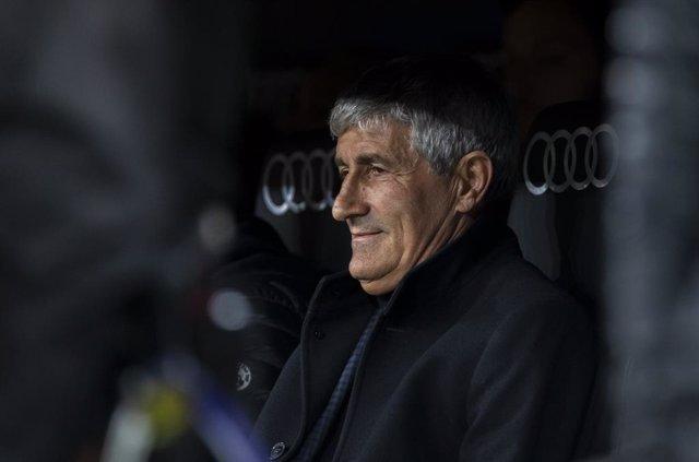 """Fútbol.- Quique Setién: """"Vendrían bien los dos: Neymar y Lautaro"""""""