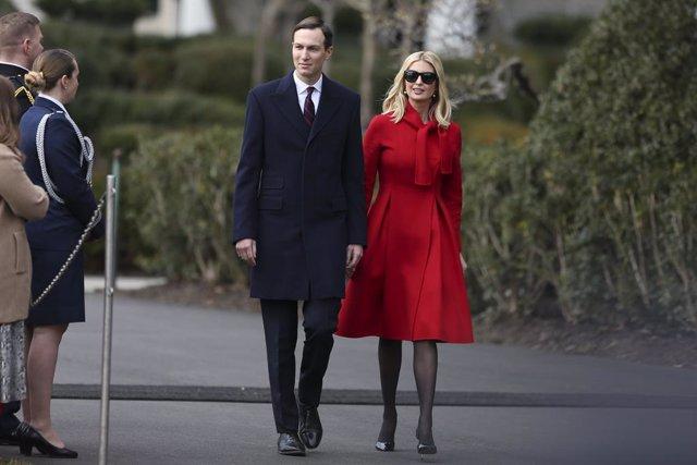 Coronavirus.- Ivanka Trump y Jared Kushner viajaron a Nueva Jersey en contra de