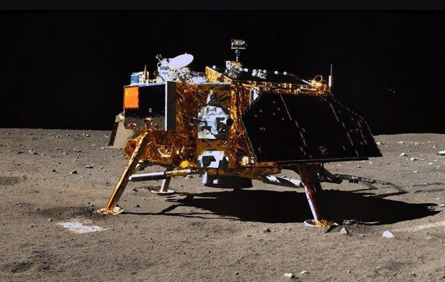 La misión china Chang'e 4 sobrevive a otra gélida noche lunar
