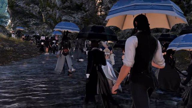Final Fantasy XIV acoge un funeral virtual por una jugadora fallecida por corona