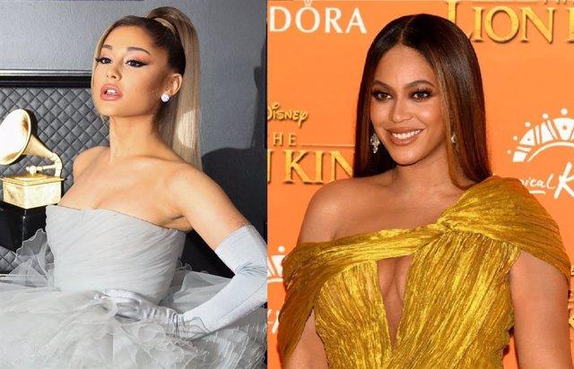Ariana Grande y Beyoncé
