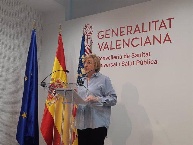 La consellera Ana Barceló