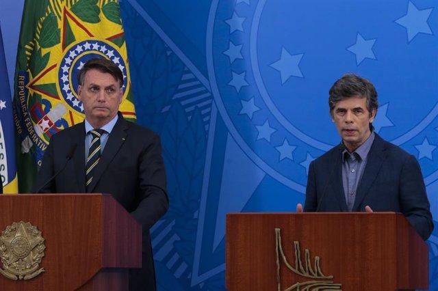 """Coronavirus.- Bolsonaro insiste en reanudar la actividad y reabrir fronteras: """"E"""