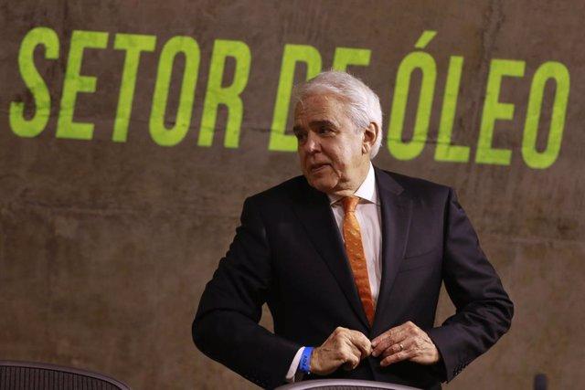 El presidente y consejero delegado de Petrobras, Roberto Castello Branco, durante un seminario económico en la fundación Getulio Vargas
