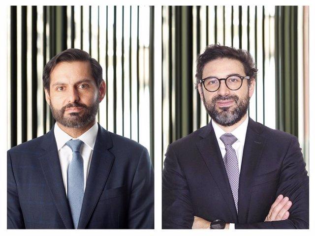 Los nuevos socios de Cuatrecasas, Cristián Conejero Roos y Gianfranco Ltito