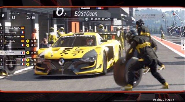 Fórmula 1.- El equipo de Carlos Sainz vence en el 'GP Marca' con Gran Turismo Sp