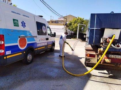 Superan el Covid-19 los cuatro vecinos de Gerena (Sevilla) contagiados y la localidad queda libre de casos