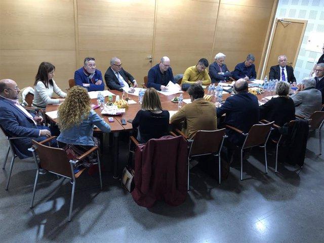 Reunión de la Confederación Regional de Empresas del Metal de Canarias (CREM)