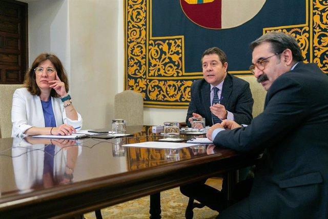 Reunión del Gobierno regional con dirigentes hospitalarios