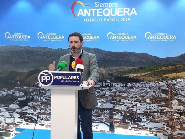 El coordinador general del PP de Málaga, José Ramón Carmona