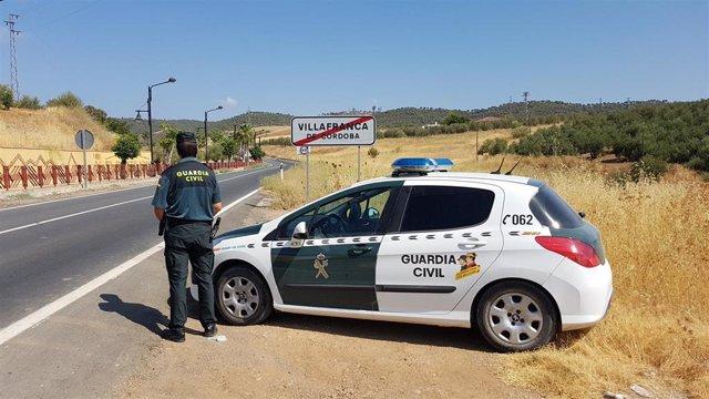 La Guardia Civil en Villafranca