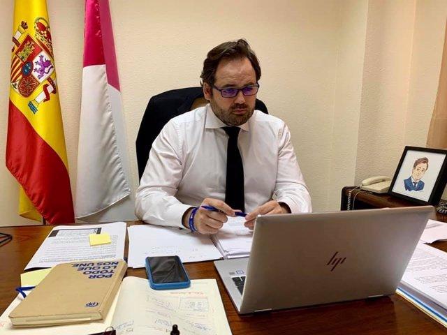 El presidente del PP, Paco Núñez.