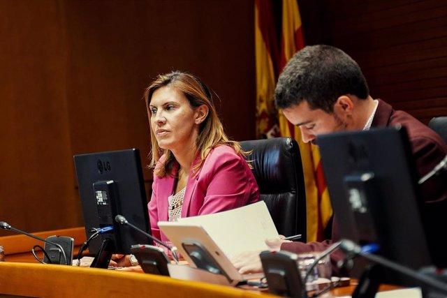 La diputada de Cs en las Cortes de Aragón, Jara Bernúes