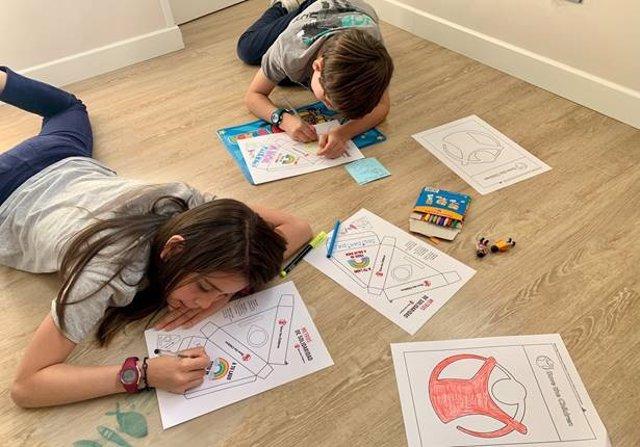 Niños durante la crisis del Coronavirus