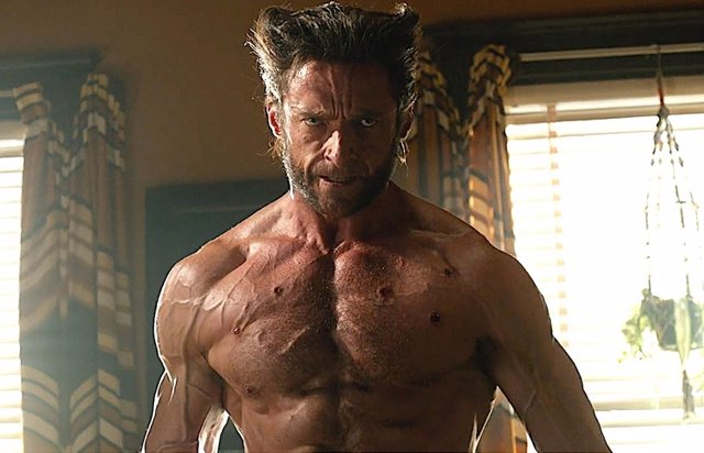 Hugh Jackman como Lobezno