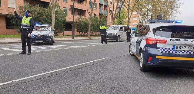 Policía Local en Logroño
