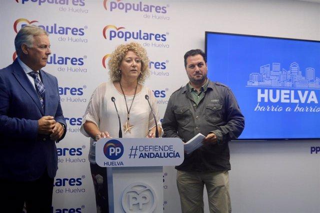 Presidenta del PP de Huelva, Pilar Marín, en una imagen de archivo
