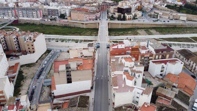 Río Guadalentín a su paso por Lorca
