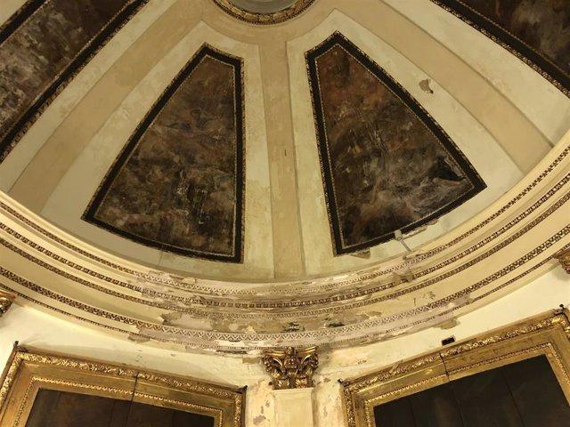 Filtraciones en la Catedral de Valncia