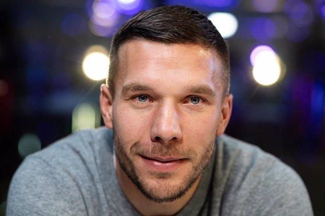 El jugador alemán Lukas Podolski