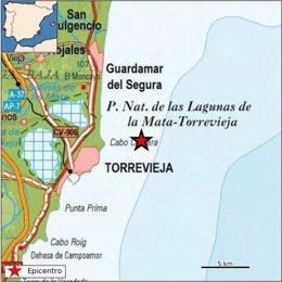 Terremoto en Torrevieja