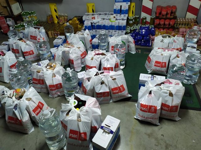 """Coronavirus.- PP llama """"indigno y rastrero"""" al PSOE por repartir bolsas de comid"""