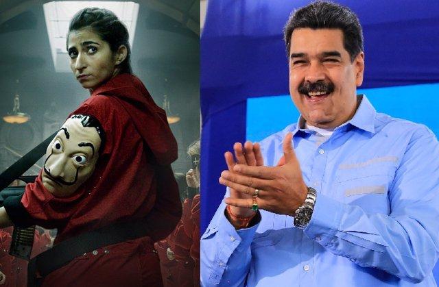 Nicolas Maduro, fan de La casa de papel