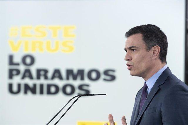 El presidente del Gobierno, Pedro Sáncheze