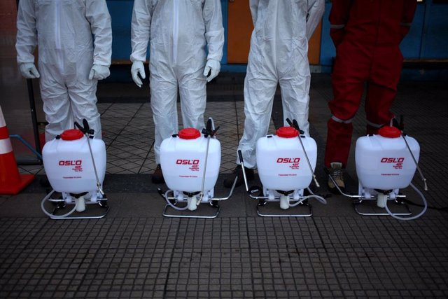 Desinfección en Chile