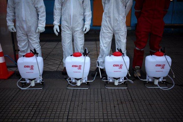 Coronavirus.- Chile rebasa el umbral de los 10.000 contagios
