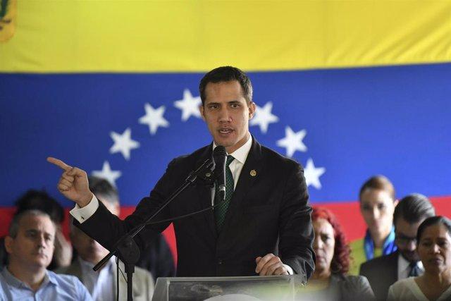 El líder de la oposición, Juan Guaidó