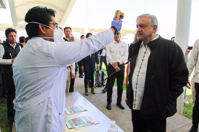 Coronavirus.- López Obrador agradece a China y EEUU su apoyo para hacer frente a
