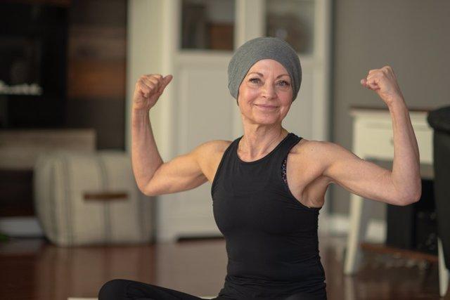 Superviviente cáncer.