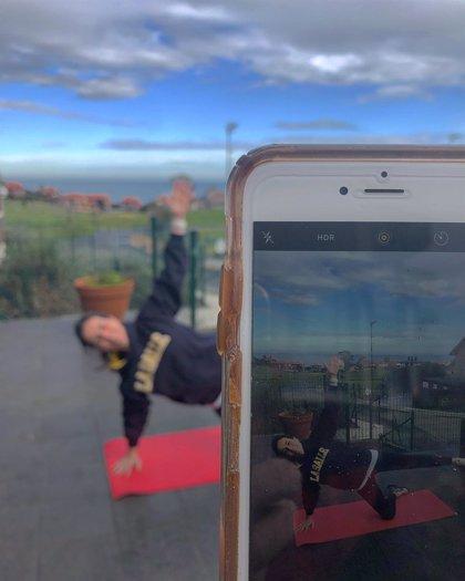La Salle Santander crea un canal de Instagram abierto a la población para hacer ejercicio