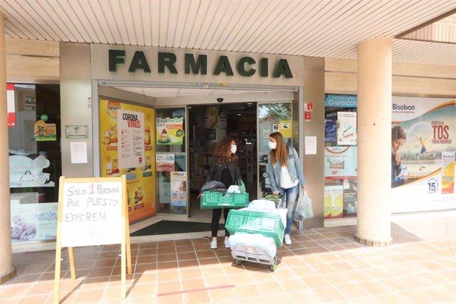 Farmacia de Arganda del Rey.