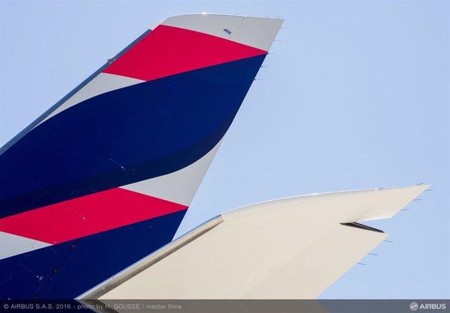 Latam Airlines mantiene su reducción del 95% de operación de pasajeros durante mayo