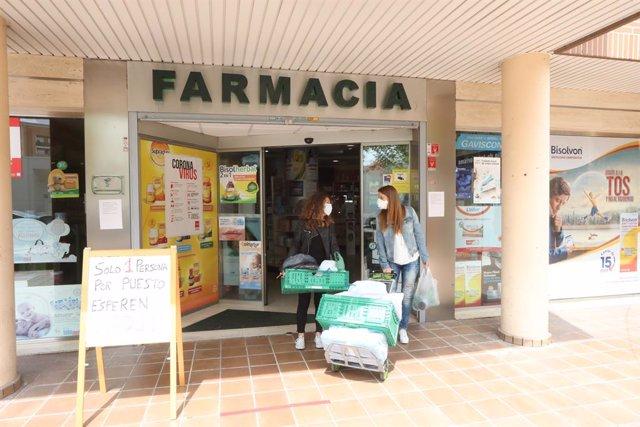 Farmàcia d'Arganda del Rei.