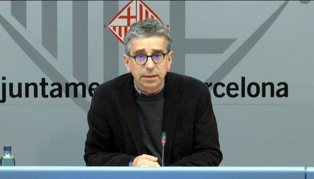 El regidor de Presidència i Pressupostos de Barcelona, Jordi Martí.
