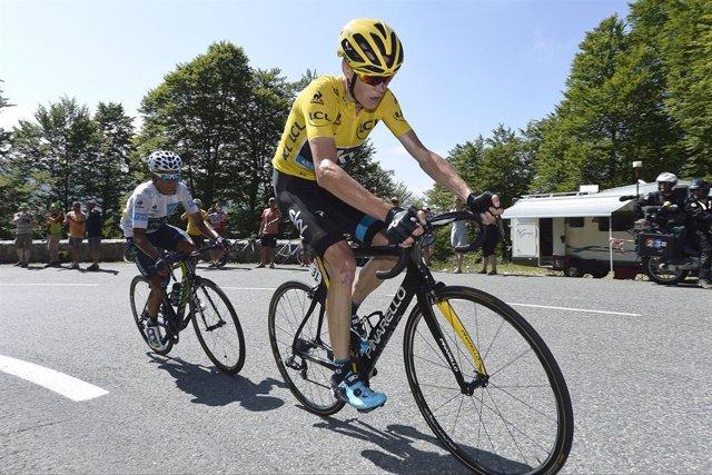 """Ciclismo.- Froome se ríe de que Unzué piense que lo habría """"pasado mal"""" sin su e"""