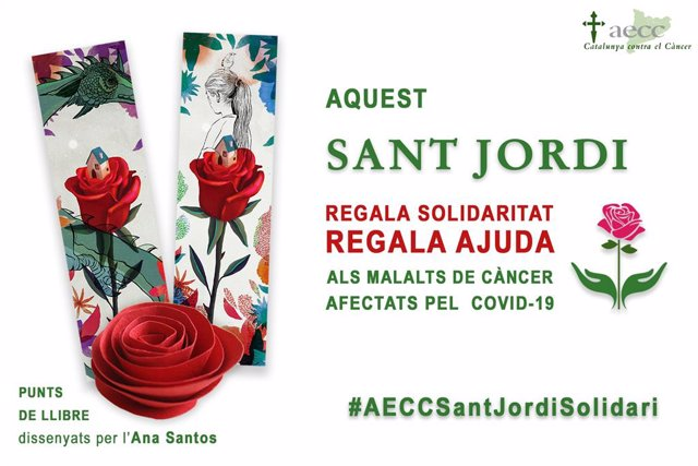 Coronavirus.- L'Associació Contra el Càncer celebrarà Sant Jordi amb roses virtuals solidàries