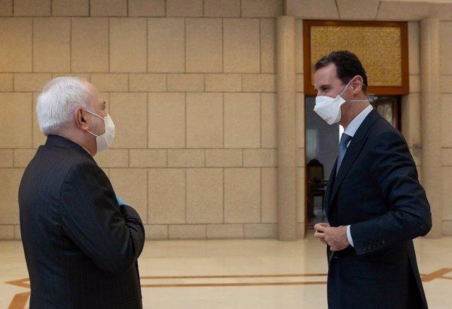 Siria.- El ministro de Exteriores de Irán se reúne con Al Assad en Damasco