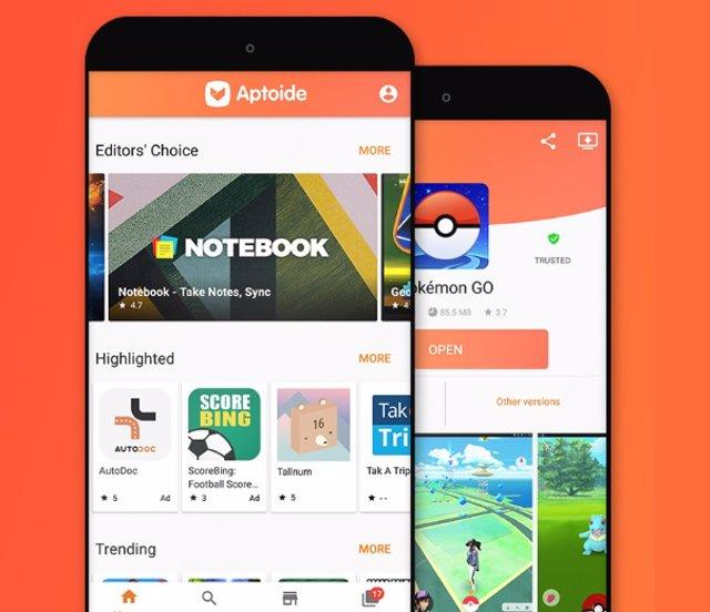 botiga d'apps Android Aptoide