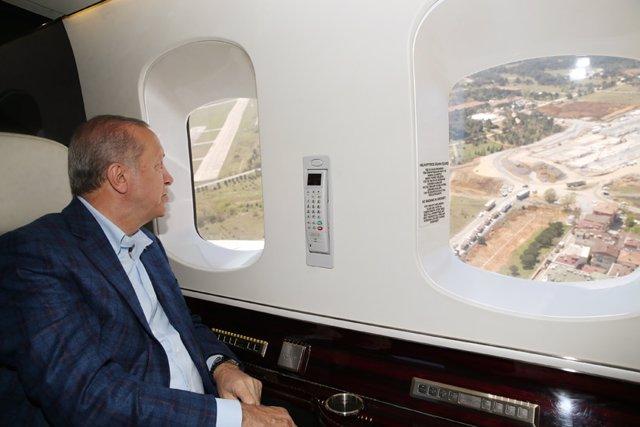 Coronavirus.- Erdogan inaugura un nuevo hospital en Estambul, que operará parcia
